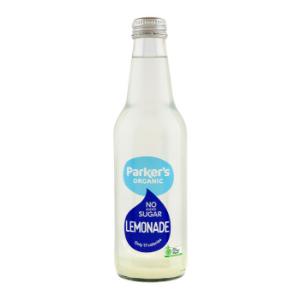 PS Organic No Sugar Lemonade 330ml 12Pk - Parkers-Organic-No-Sugar-Lemonade-1