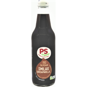 PS Organic No Sugar Smilax Sarsaparilla 330ml 12Pk - Parkers-Sarsaparilla-300x300-2