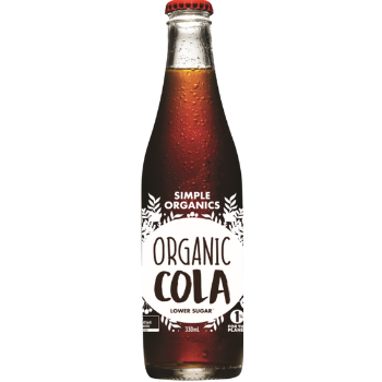 Simple Organic 12 X Cola 330ml Glass - Simple-Organic-Cola
