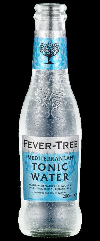 Fevertree Mediterranean Tonic Water 24pk 200ml - FT-Med-Tonic-350x840