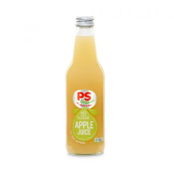 PS Organic Apple Juice 330ml 12Pk - PS-Apple-Juice-300x300-1-350x350