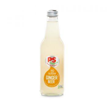 PS Organic No Sugar Ginger Beer 330ml 12Pk - Parkers-Organic-No-Sugar-Ginger-Beer-350x350