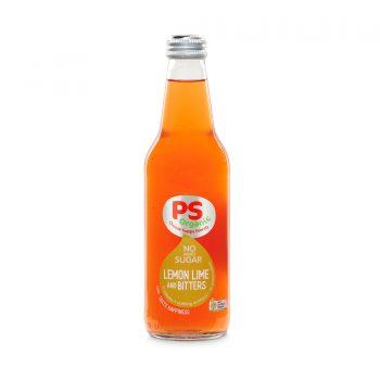 PS Organic No Sugar Lemon Lime Bitters 330ml 12Pk - Parkers-Organic-No-Sugar-Lemo-Lime-Bitters-350x350