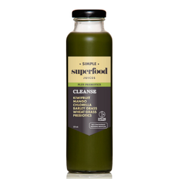 Simple Superfood Afterglow 12 X 325ml Glass - Simple-Superfood-Cleanse