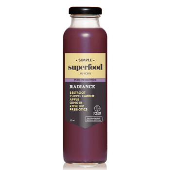 Simple Superfood Afterglow 12 X 325ml Glass - Simple-Superfood-Radiance